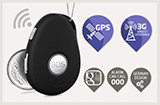 mobile medical alert pendant system with GPS and fall detection