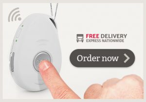 live life mobile emergency personal alarm system white