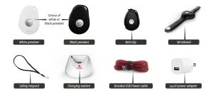 whats included live life mobile personal alarm system