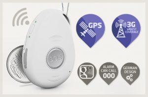mobile 4g emergency medical alarm system slide