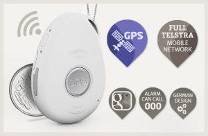 mobile emergency alarm live life 4G 3G pendant