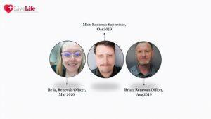 live life alarms renewals team